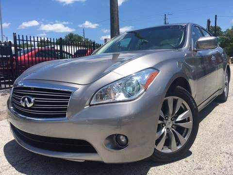 2013 Infiniti M37 for sale at LUXURY AUTO MALL in Tampa FL