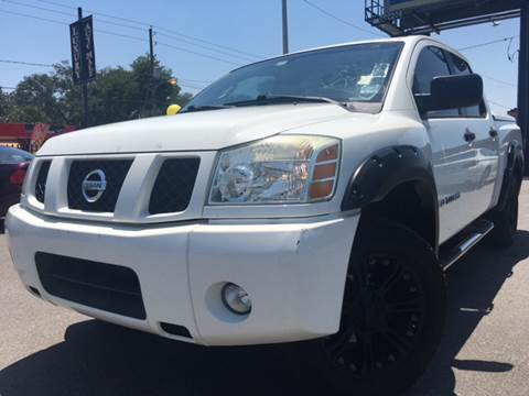 2005 Nissan Titan for sale at LUXURY AUTO MALL in Tampa FL