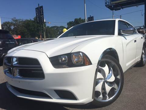 2012 Dodge Charger for sale at LUXURY AUTO MALL in Tampa FL