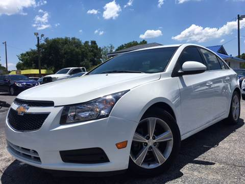 2012 Chevrolet Cruze for sale at LUXURY AUTO MALL in Tampa FL