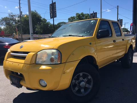 2004 Nissan Frontier for sale at LUXURY AUTO MALL in Tampa FL