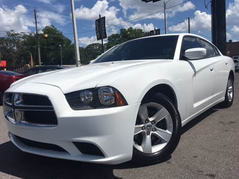 2013 Dodge Charger for sale at LUXURY AUTO MALL in Tampa FL
