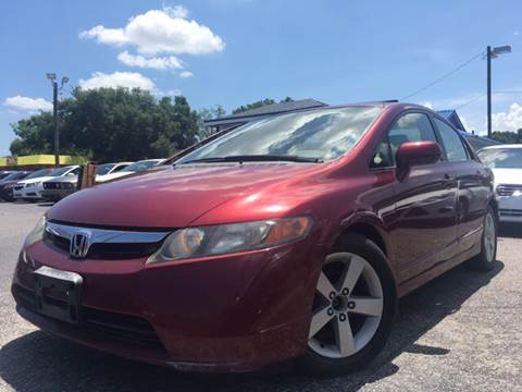 2007 Honda Civic for sale at LUXURY AUTO MALL in Tampa FL