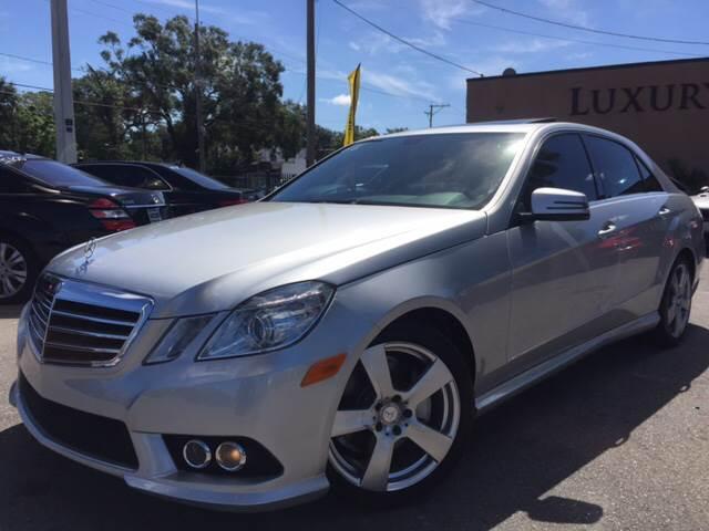 MercedesBenz EClass E Sport MATIC In Tampa FL LUXURY - Mercedes benz auto mall