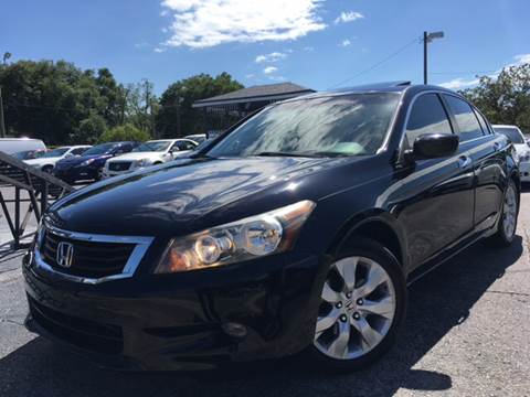 2008 Honda Accord for sale at LUXURY AUTO MALL in Tampa FL