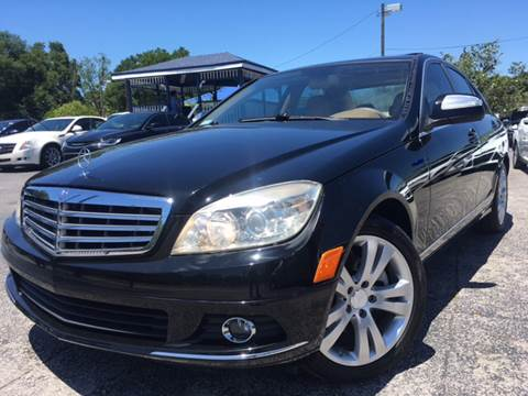 2008 Mercedes-Benz C-Class for sale at LUXURY AUTO MALL in Tampa FL