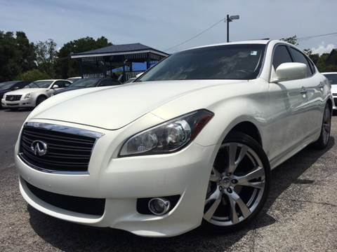 2011 Infiniti M56 for sale at LUXURY AUTO MALL in Tampa FL