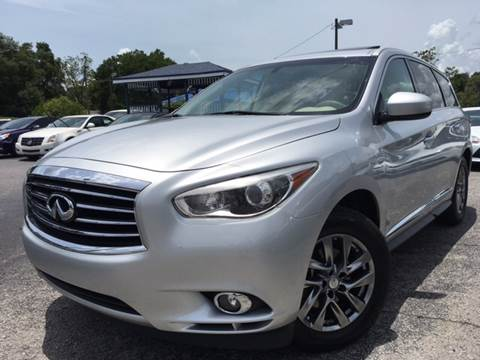 2014 Infiniti QX60 for sale at LUXURY AUTO MALL in Tampa FL