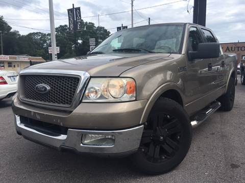 2005 Ford F-150 for sale at LUXURY AUTO MALL in Tampa FL