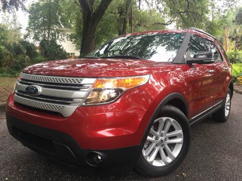 2013 Ford Explorer for sale at LUXURY AUTO MALL in Tampa FL