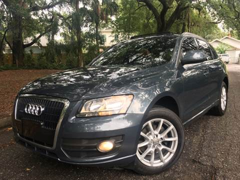 2010 Audi Q5 for sale at LUXURY AUTO MALL in Tampa FL