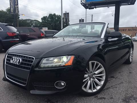 2010 Audi A5 for sale at LUXURY AUTO MALL in Tampa FL