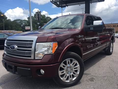 2009 Ford F-150 for sale at LUXURY AUTO MALL in Tampa FL