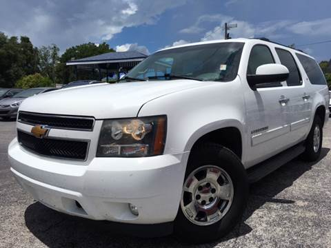 2012 Chevrolet Suburban for sale at LUXURY AUTO MALL in Tampa FL
