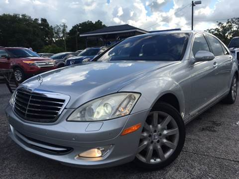 2007 Mercedes-Benz S-Class for sale at LUXURY AUTO MALL in Tampa FL