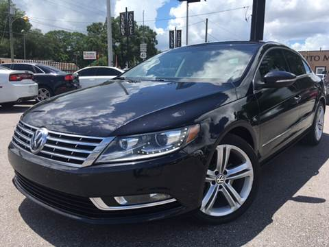 2013 Volkswagen CC for sale at LUXURY AUTO MALL in Tampa FL