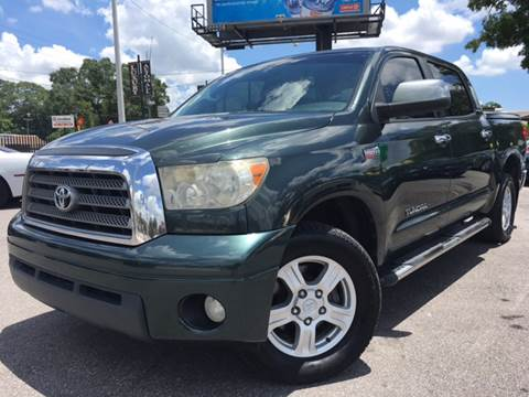 2007 Toyota Tundra for sale at LUXURY AUTO MALL in Tampa FL