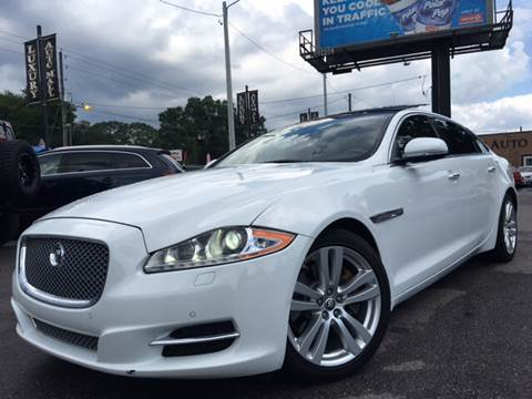 2011 Jaguar XJL for sale at LUXURY AUTO MALL in Tampa FL