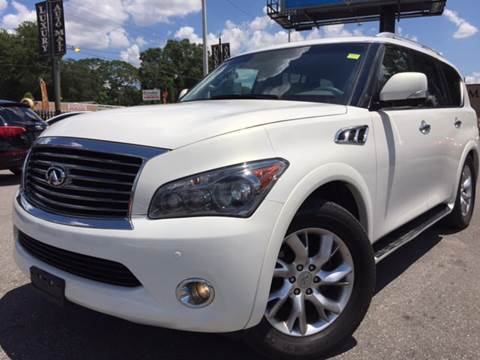 2011 Infiniti QX56 for sale at LUXURY AUTO MALL in Tampa FL