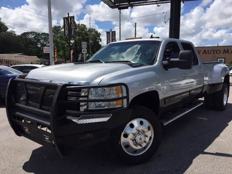 2012 Chevrolet Silverado 3500HD for sale at LUXURY AUTO MALL in Tampa FL