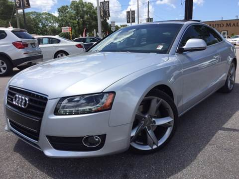2008 Audi A5 for sale at LUXURY AUTO MALL in Tampa FL