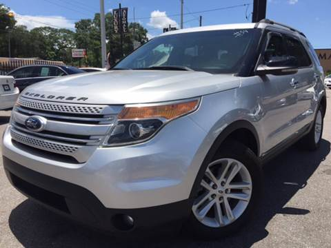 2012 Ford Explorer for sale at LUXURY AUTO MALL in Tampa FL