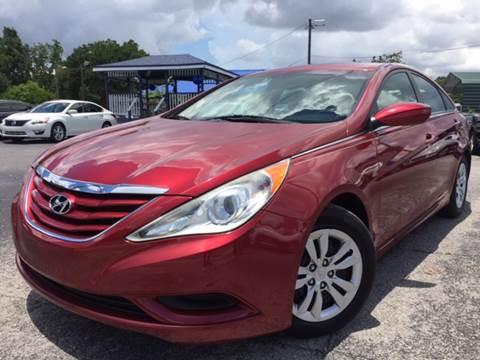 2012 Hyundai Sonata for sale at LUXURY AUTO MALL in Tampa FL