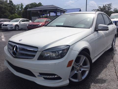 2011 Mercedes-Benz C-Class for sale at LUXURY AUTO MALL in Tampa FL