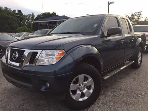 2013 Nissan Frontier for sale at LUXURY AUTO MALL in Tampa FL
