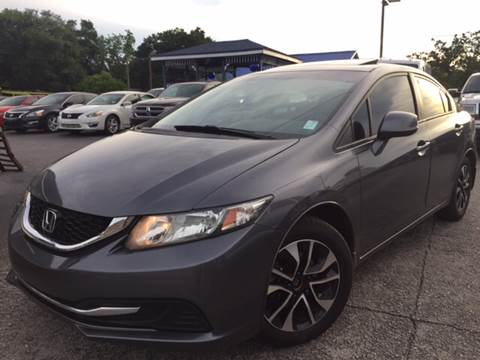 2013 Honda Civic for sale at LUXURY AUTO MALL in Tampa FL