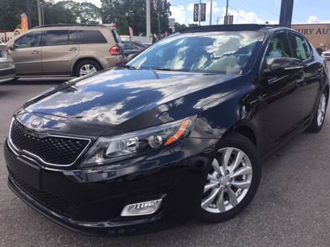 2014 Kia Optima for sale at LUXURY AUTO MALL in Tampa FL