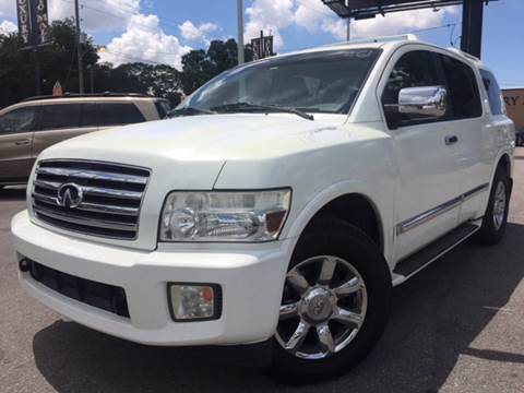 2006 Infiniti QX56 for sale at LUXURY AUTO MALL in Tampa FL