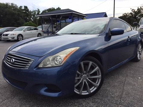 2008 Infiniti G37 for sale at LUXURY AUTO MALL in Tampa FL