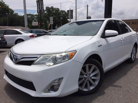 2012 Toyota Camry Hybrid for sale at LUXURY AUTO MALL in Tampa FL