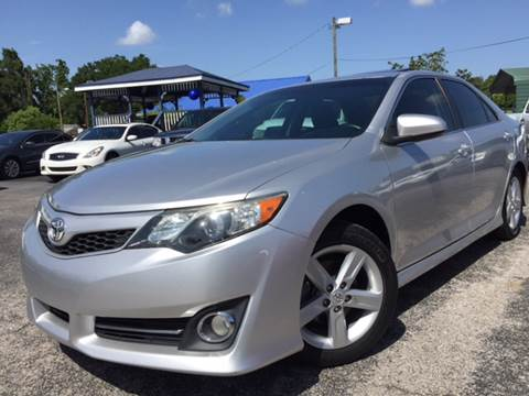 2012 Toyota Camry for sale at LUXURY AUTO MALL in Tampa FL