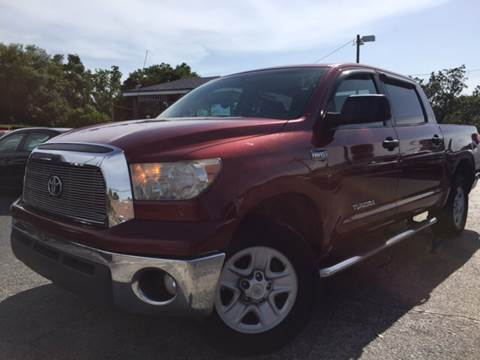 2009 Toyota Tundra for sale at LUXURY AUTO MALL in Tampa FL