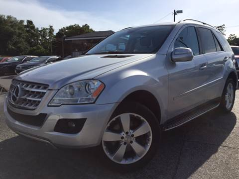 2010 Mercedes-Benz M-Class for sale at LUXURY AUTO MALL in Tampa FL