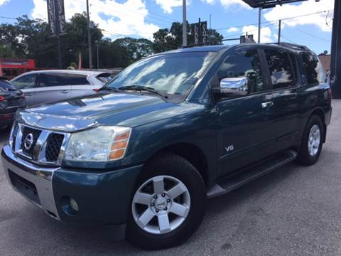 2005 Nissan Armada for sale at LUXURY AUTO MALL in Tampa FL