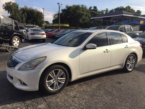 2011 Infiniti G37 Sedan for sale at LUXURY AUTO MALL in Tampa FL