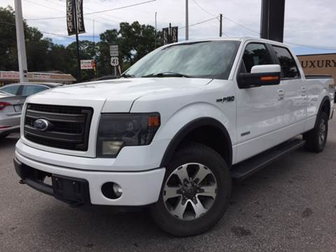 2013 Ford F-150 for sale at LUXURY AUTO MALL in Tampa FL