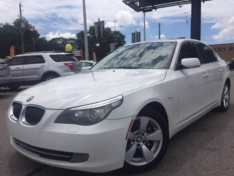 2008 BMW 5 Series for sale at LUXURY AUTO MALL in Tampa FL