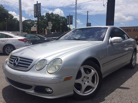 2005 Mercedes-Benz CL-Class for sale at LUXURY AUTO MALL in Tampa FL