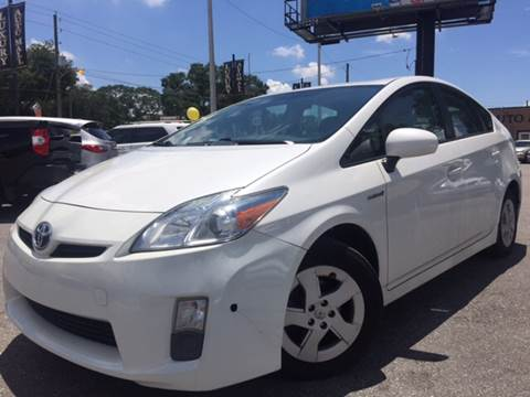 2010 Toyota Prius for sale at LUXURY AUTO MALL in Tampa FL