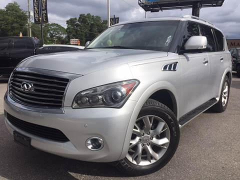 2012 Infiniti QX56 for sale at LUXURY AUTO MALL in Tampa FL