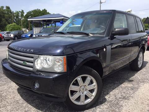 2007 Land Rover Range Rover for sale at LUXURY AUTO MALL in Tampa FL