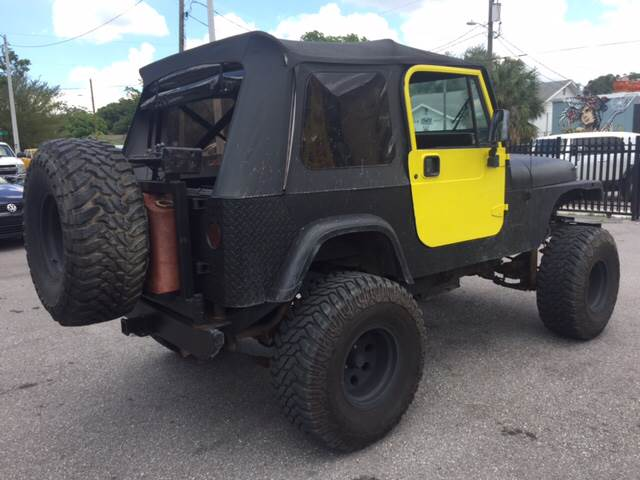 1995 Jeep Wrangler for sale at LUXURY AUTO MALL in Tampa FL