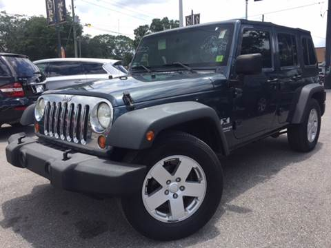 2007 Jeep Wrangler Unlimited for sale at LUXURY AUTO MALL in Tampa FL