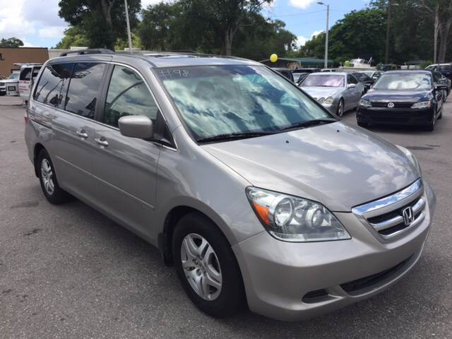2006 Honda Odyssey for sale at LUXURY AUTO MALL in Tampa FL