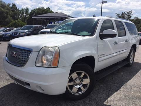 2007 GMC Yukon XL for sale at LUXURY AUTO MALL in Tampa FL