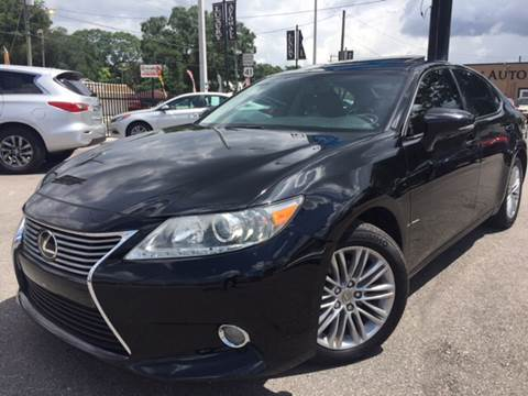 2013 Lexus ES 350 for sale at LUXURY AUTO MALL in Tampa FL